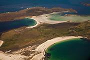 East Falkland Islands, aerial view, South Atlantic Ocean