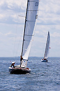 Dream sailing in the Corinthian Classic Yacht Regatta.
