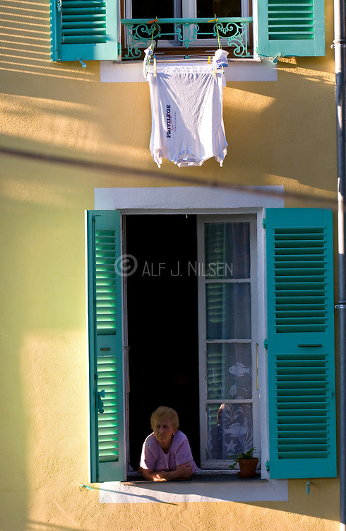 Woman in Lorgues, Provence, France