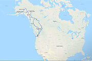 From May 27-July 3, 2019, we drove our new RV about 6200 miles from Seattle to Denali National Park via Cassiar Highway, Klondike Highway, and Alaska Highway; then looped back via Parks Highway, Glenn Highway, Alaska Highway, Jasper National Park, and Mt Robson.