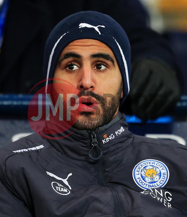 Riyad Mahrez of Leicester City - Mandatory by-line: Matt McNulty/JMP - 10/02/2018 - FOOTBALL - Etihad Stadium - Manchester, England - Manchester City v Leicester City - Premier League