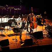 Jason Webley performs at the Moore Theatre, November 11th, 2011