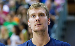 Zoran Dragic of Slovenia during friendly basketball match between National teams of Slovenia and Georgia in day 2 of Adecco Cup 2014, on July 25, 2014 in Dvorana OS 1, Murska Sobota, Slovenia. Photo by Vid Ponikvar / Sportida.com