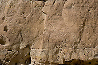 Petroglyphs at Chaco Canyon NHS, New Mexico
