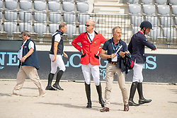Guery Jerome, BEL<br /> Rotterdam - Europameisterschaft Dressur, Springen und Para-Dressur 2019<br /> Parcoursbesichtigung<br /> Longines FEI Jumping European Championship - 1st part - speed competition against the clock<br /> 1. Runde Zeitspringen<br /> 21. August 2019<br /> © www.sportfotos-lafrentz.de/Dirk Caremans