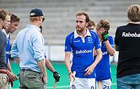 ROTTERDAM - Quirijn Caspers (Kampong) tijdens de wedstrijd om de derde plaats , Kampong- Oranje Rood , bij de ABN AMRO cup. COPYRIGHT KOEN SUYK