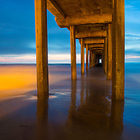 The Scripps Pier in La Jolla San Diego , California