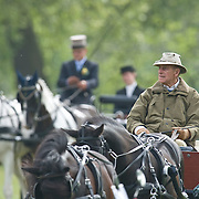 WINDSOR, ENGLAND - MAY 14: HRH The Duke of Edinburgh rides a two horses carriage, around the grounds of Windsor Castle on the second day of the Windosr Horse Show  on May 14, 2009 in Windsor, England.  ..Marco Secchi /Xianpix.ms@msecchi.com.NUJ recommended terms & conditions apply. Moral rights asserted under Copyright Designs & Patents Act 1988. .Credit is required. .No part of this photo to be stored, reproduced, manipulated or transmitted by any means without permission....COPYRIGHT NOTICE.© Marco Secchi/xianpix.com..COUNTRY.UK GBR826...CREDIT.© Marco Secchi/xianpix.com