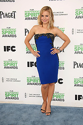 Kristen Bell at the 2014 Film Independent Spirit Awards Arrivals, Santa Monica Beach, Santa Monica, United States, Saturday, 1st March 2014. Picture by Hollywood Bubbles / i-Images<br /> UK ONLY