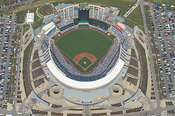 April 08, 2013; Kansas City, MO, USA; A general aerial view of the sold out crowd on opening day of the game between the Minnesota Twins and the Kansas City Royals at Kauffman Stadium. Mandatory Credit: Denny Medley-USA TODAY Sports