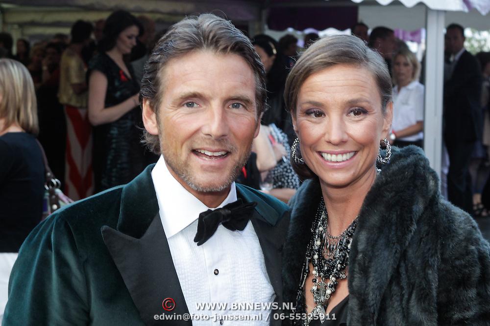NLD/Amsterdam/20120602 - Amsterdamdiner 2012, prinses Marilene en partner prins Maurits