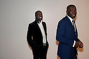 DAVID ADJAYE; CHRIS OFILI, Chris Ofili dinner to celebrate the opening of his exhibition. Tate. London. 25 January 2010