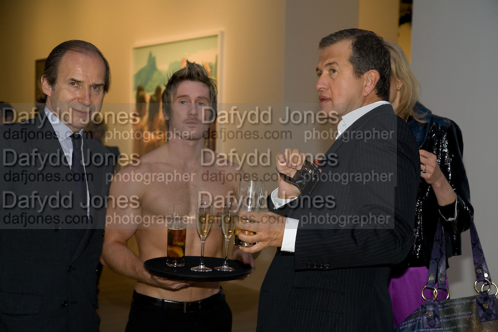 SIMON DE PURY; MARIO TESTINO, Mario Testino: Obsessed by You -  private view<br />Phillips de Pury & Company, Howick Place, London, SW1, 2 July 2008 *** Local Caption *** -DO NOT ARCHIVE-© Copyright Photograph by Dafydd Jones. 248 Clapham Rd. London SW9 0PZ. Tel 0207 820 0771. www.dafjones.com.
