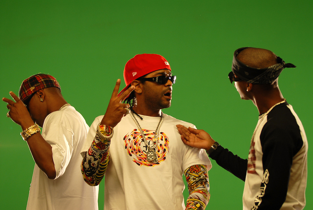 "Hasain Rasheed Photography.Jim Jones Video Shoot for ""Reppin Time"" and ""We Fly High"" August 2006."