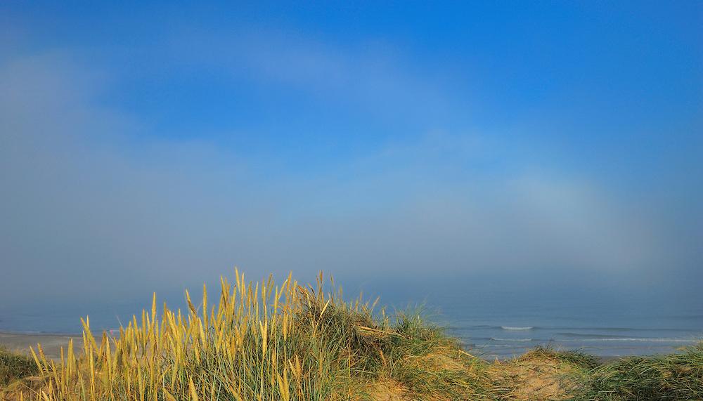 Fog bow - Klitmøller - National Park Thy, Denmark