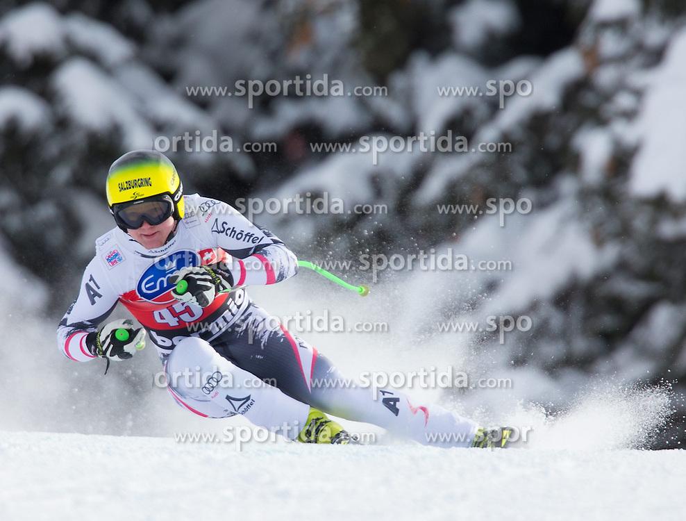 29.12.2013, Stelvio, Bormio, ITA, FIS Ski Weltcup, Bormio, Abfahrt, Herren, im Bild Markus Duerager (AUT) // Markus Duerager of Austria in action during mens downhill of the Bormio FIS Ski Alpine World Cup at the Stelvio Course in Bormio, Italy on 2013/12/29. EXPA Pictures © 2013, PhotoCredit: EXPA/ Johann Groder