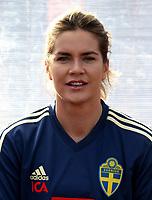 International Women's Friendly Matchs 2019 / <br /> Womens's Algarve Cup Tournament 2019 - <br /> Portugal v Sweden 2-1 ( Municipal Stadium - Albufeira,Portugal ) - <br /> Hanna Folkesson of Sweden