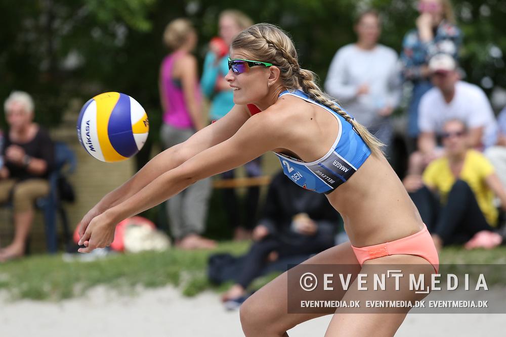NEVZA Beach Volleyball zonal tournament for women at Dalum Hallen, Odense, Denmark, 11.06.2017. Photo Credit: Allan Jensen/EVENTMEDIA.