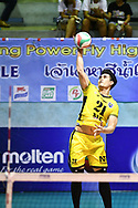 BANGKOK, THAILAND - MARCH 01: NK Fitness during 2016–17 Men's Volleyball Thailand League Championship, Chantarubeksa Air Force Stadium, Bangkok, Thailand on October 01, 2017.<br /> .<br /> .<br /> .<br /> (Photo by: Naratip Golf Srisupab/SEALs Sports Images)<br /> .<br /> Any image use must include a mandatory credit line adjacent to the content which should read: Naratip Golf Srisupab/SEALs Sports Images