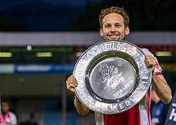 15-05-2019 NED: De Graafschap - Ajax, Doetinchem<br /> Round 34 / It wasn't really exciting anymore, but after the match against De Graafschap (1-4) it is official: Ajax is champion of the Netherlands / Daley Blind #17 of Ajax