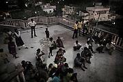 Christian refugees at Peyton sahi relief comittee in Orissa's capital Bhubaneswar. Nov. 03, 2008.
