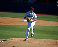 Ole Miss' Sam Smith (29) vs. Arkansas State in baseball action at Oxford-University Stadium in Oxford, Miss. on Tuesday, February 21, 2012. Ole Miss won the home opener 8-1 to improve to 2-1 on the season. Arkansas State dropped to 0-3.