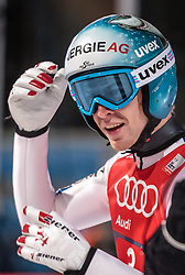 06.01.2016, Paul Ausserleitner Schanze, Bischofshofen, AUT, FIS Weltcup Ski Sprung, Vierschanzentournee, Bischofshofen, XXX, im Bild Michael Hayboeck (AUT) // Michael Hayboeck of Austria reacts after his final jump of the Four Hills Tournament of FIS Ski Jumping World Cup at the Paul Ausserleitner Schanze in Bischofshofen, Austria on 2016/01/06. EXPA Pictures © 2016, PhotoCredit: EXPA/ JFK