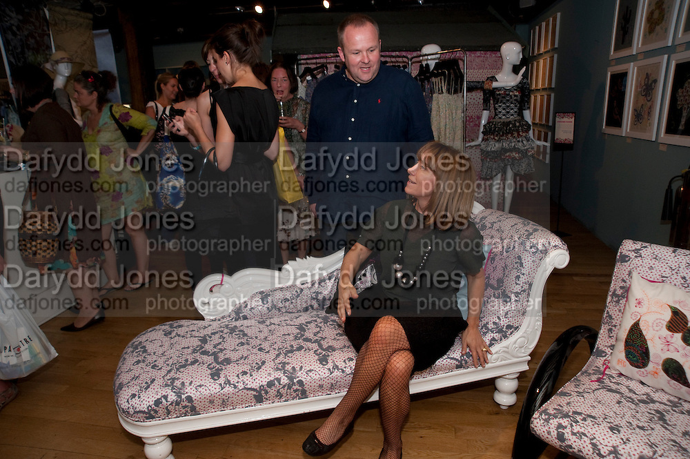 ROBERT CLYDESDALE; MEG MATHEWS, Prints Charming Exhibition. Liberty's. London. 11 August 2009