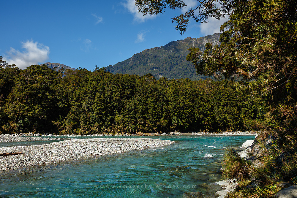 Haast Highway, New Zealand