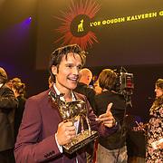 NLD/Utrecht/20181005 - L'OR Gouden Kalveren Gala 2018, Tim Oliehoek wint Gouden Kalf
