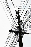 Powerlines and pole&#xA;<br />