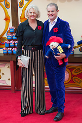 © Licensed to London News Pictures. 05/11/2017. London, UK. LULU EVANS and HUGH BONNEVILLE attends the Paddington Bear 2 UK film premiere. Photo credit: Ray Tang/LNP