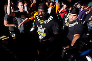 Kimbo Slice walks toward the ring prior to his main event bout against Brian Green during Fright Night Returns at O'Reilly Family Event Center on March 24, 2012 in Springfield, Missouri. (David Welker / TurfImages.com).