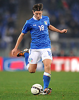 Fussball International, Nationalmannschaft   EURO 2012 Play Off, Qualifikation, Italien - Uruguay      15.11.2011 Ricardo Montolivo (Italien)