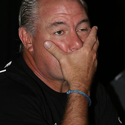 DURBAN, SOUTH AFRICA - MARCH 19: Gary Gold (Sharks Director of Rugby) during the Cell C Sharks press conference at Growthpoint Kings Park on March 19, 2015 in Durban, South Africa. (Photo by Steve Haag/Gallo Images)