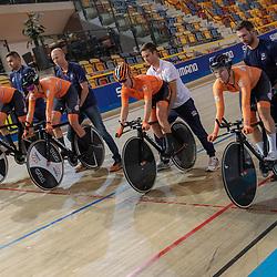 15-10-2019: Cycling: EC track: Apeldoorn<br />Nederland staat op dit EK aan het vertrek met een achtervolgingsploeg bij de vrouwen