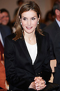 040915 Queen Letizia attends Proclamation of the winner of the 'Princess Girona Award'