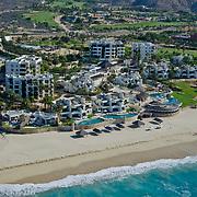 Aerial view of Ventanas al Paraiso hotel in Cabo San Lucas. BCS. Mexico