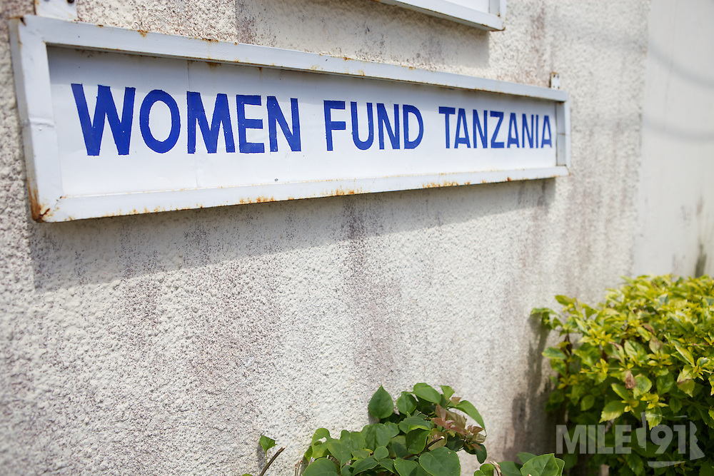 The entrance to Womens fund offices in in Dar-es-Salaam, Tanzania...Womens Fund provides grants and supports training in other grassroots women's empowerment projects.