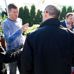 20131018: SLO, Football - Press conference of Srecko Katanec, Aleksander Ceferin and Ales Zavrl