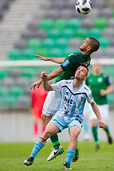 Ricardo Alves Coelho Da Silva of NK Olimpija Ljubljana during football match between NK Olimpija Ljubljana and ND Gorica in Round #29 of Prva liga Telekom Slovenije 2017/18, on April 29, 2018 in SRC Stozice, Ljubljana, Slovenia. Photo by Urban Urbanc / Sportida