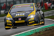 Jack Goff - WIX Racing with Eurotech - Honda Civic Type R during the Dunlop MSA British Touring Car Championship at Brands Hatch, Fawkham, United Kingdom on 8 April 2018. Picture by Aaron  Lupton.