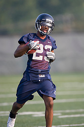 Dom Joseph (23)..The 2007 Virginia Cavaliers football team opened fall practice on August 6, 2007 at the University of Virginia football practice fields near the McCue Center in Charlottesville, VA.