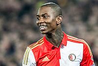 ROTTERDAM - Feyenoord - AZ , Voetbal , Seizoen 2015/2016 , Halve finales KNVB Beker , Stadion de Kuip , 03-03-2016 , Speler van Feyenoord Eljero Elia is blij met de overwinning