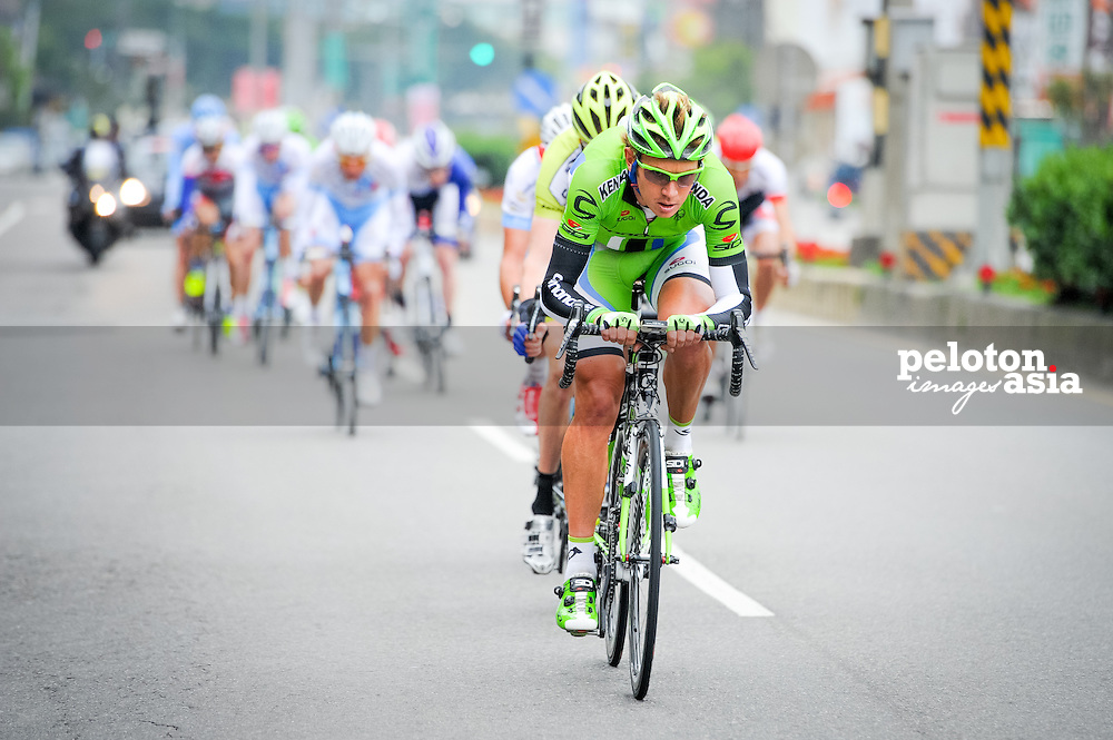 2014 Tour de Taiwan / stage2 / Taiwan / Cannondale / WURF Cameron (AUS)