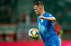 Josip Iličić of Slovenia during the 2020 UEFA European Championships group G qualifying match between Austria and Slovenia at Wörthersee Stadion on June 7, 2019 in Klagenfurt, Austria. Photo by Vid Ponikvar / Sportida