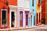 The colourful streets of Guanajuato, México.