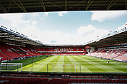 A general view of Bramall Lane before the Premier League match between Sheffield United and Crystal Palace at Bramall Lane, Sheffield, England on 18 August 2019.