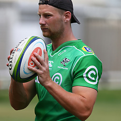 Robert du Preez during the cell c sharks pre season training session at  Growthpoint Kings Park ,25,01,2018 Photo by Steve Haag)