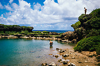 The Inarajan pools in southern Guam.